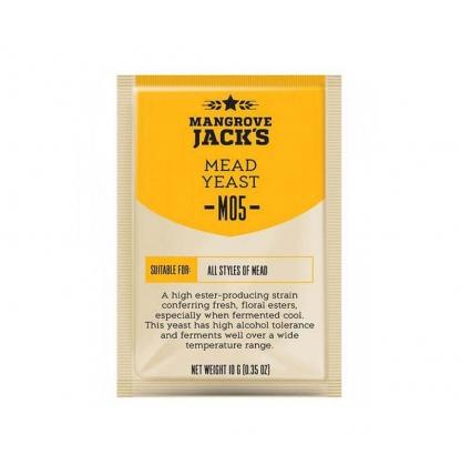 Дрожжи для медовухи Mead M05, 10 гр.