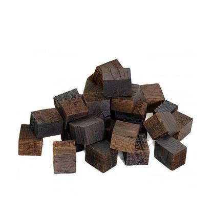 Дубовые кубики (сильный обжиг), 100 гр.