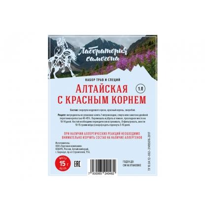 """Набор трав и специй """"Алтайская с красным корнем"""" (настойка)"""