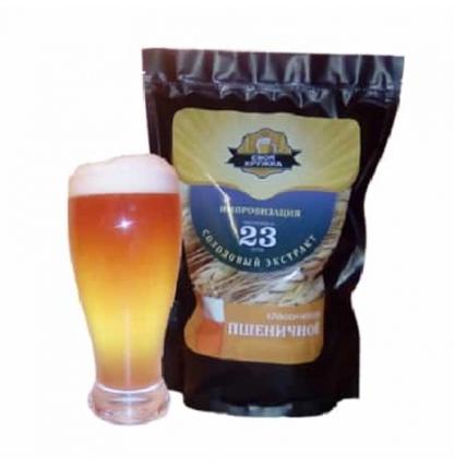 Солодовый экстракт «Своя кружка» Пшеничное классическое (импровизация), 2,1 кг