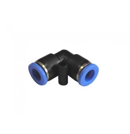 Угловое быстросъёмное соединение под шланг 6*10 мм.