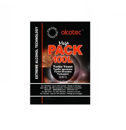 Турбо дрожжи Alcotec MegaPack 100L, 360 г