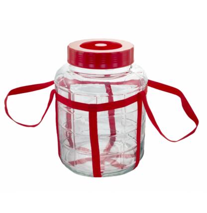 Стеклянная ёмкость для брожения с гидрозатвором