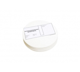 Фильтровальная бумага (белая лента), 150 мм.