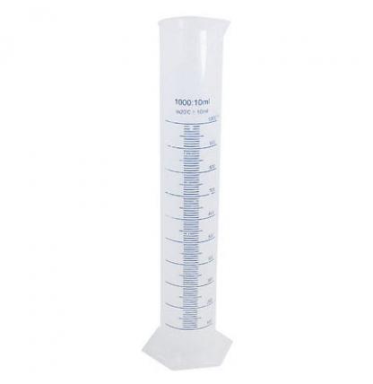 Пластиковый мерный цилиндр