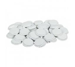 Кроненпробки (белые), 80 штук