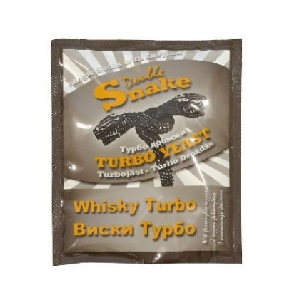Турбо дрожжи Double Snake Turbo Whisky, 70 гр.