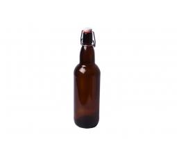 Пивная бутылка с бугельной пробкой, 0.5 л.