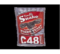 Турбо дрожжи Double Snake C48, 130 гр.
