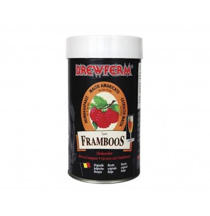 Солодовый экстракт BrewFerm Framboos, 1.5 кг.