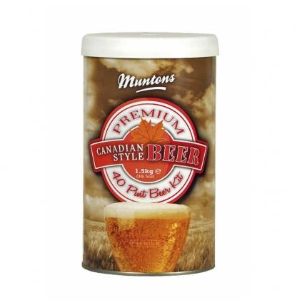 Солодовый экстракт Muntons Canadian Style Beer, 1,5 кг