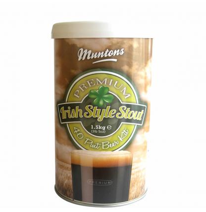 Солодовый экстракт Muntons Irish Style Stout, 1,5 кг
