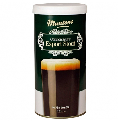 Солодовый экстракт Muntons Export Stout, 1,8 кг