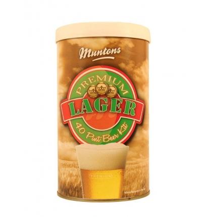 Солодовый экстракт Muntons Lager, 1,5 кг