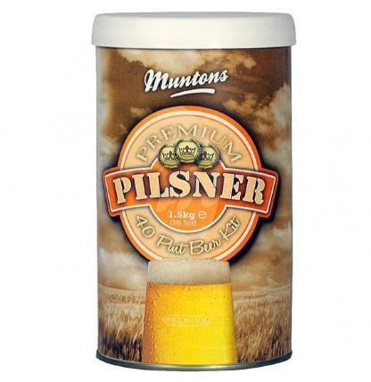 Солодовый экстракт Muntons Pilsner, 1,5 кг