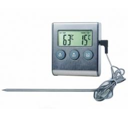 Термометр с проводным сенсором и звуковым оповещением