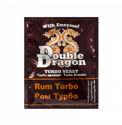 Турбо дрожжи Double Dragon Turbo Rum, 70 гр.