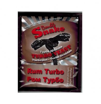 Турбо дрожжи Double Snake Turbo Rum, 70 гр.