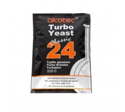 Турбо дрожжи Alcotec Classic 24, 175 гр.