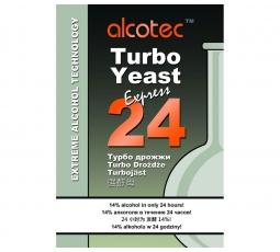 Турбо дрожжи Alcotec 24 Express, 205 гр.