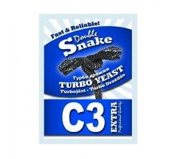 Турбо дрожжи Double Snake C3, 90 гр.
